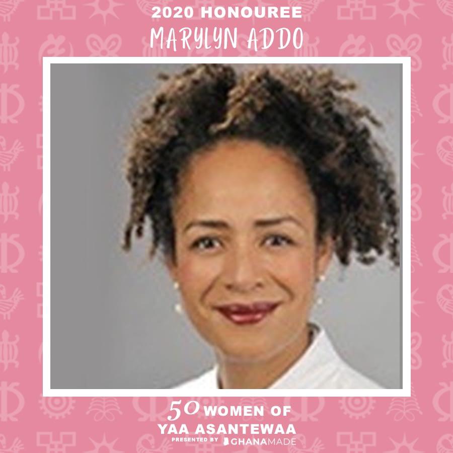 Dr. Marylyn Addo, MD PhD